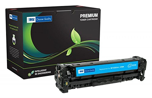 Inksters Remanufactured Cyan Toner Replacement for HP CC531A (HP 304A) - Extended Yield - 4k Pages ()
