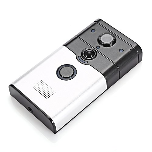 DoorBell WIFI Wireless Video Camera Viewer Door Phone Ring Bell Alarm Home Security (Size: Type1) -  Triple A