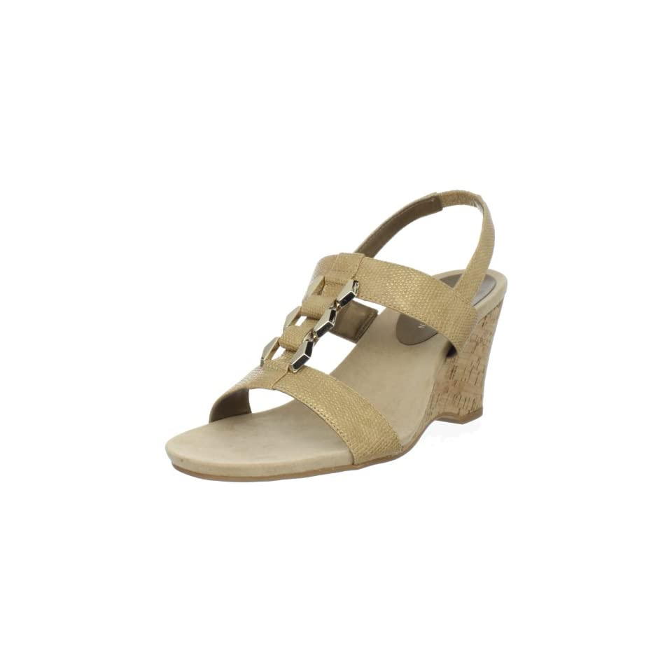 AK Anne Klein Womens Custom Wedge Sandal