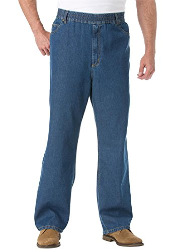Kingsize Comfort Waist Baggy Jeans