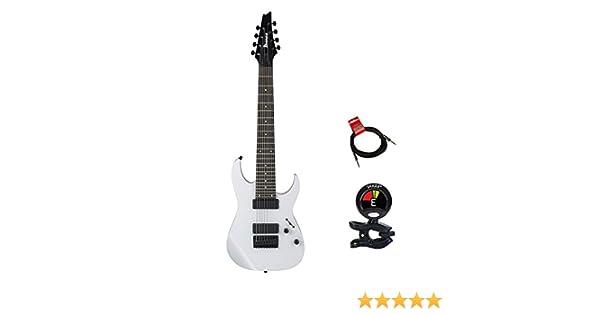 Ibanez rg8wh cuerpo sólido 8 cadena modelneck guitarra eléctrica ...