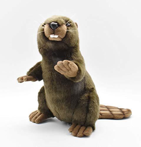 Hansa Upright Beaver Plush (Plush Beaver Stuffed)
