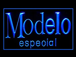 Amazon.com : Modelo Especial Logo Pub Bar Advertising LED