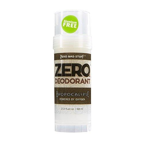 ZERO Deodorant - Oxygen Powered De-Stinkerizer - Long Lasting, All Natural, Safe for Sensitive Skin - Bropocalypse by Zero