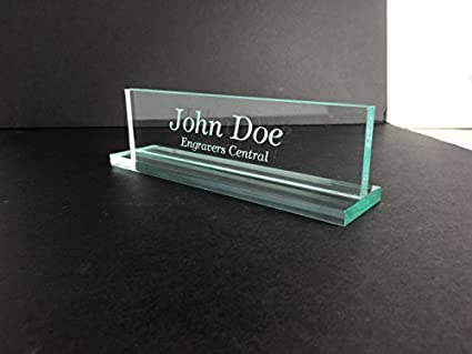 amazon com engravers central personalized office desk name plate 3 rh amazon com office desk name plates india office desk name plates india