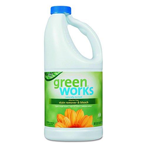 Green Works 30647 Naturally Derived Chlorine Free Bleach, 60 fl oz Bottle