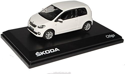 Abrex Skoda Citigo 3 Türer Candy Weiss Ab 2012 143ab021e 1 43 Modell Auto Mit Individiuellem Wunschkennzeichen Spielzeug
