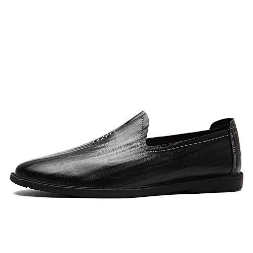 Hiver Occasionnels Rond Hommes Chaussures Business Printemps Black Ruban Souple Pointu Sports Toile Couleur Automne Eté zmlsc ATPq5wq