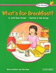 Kids' Readers: What's for Breakfast?