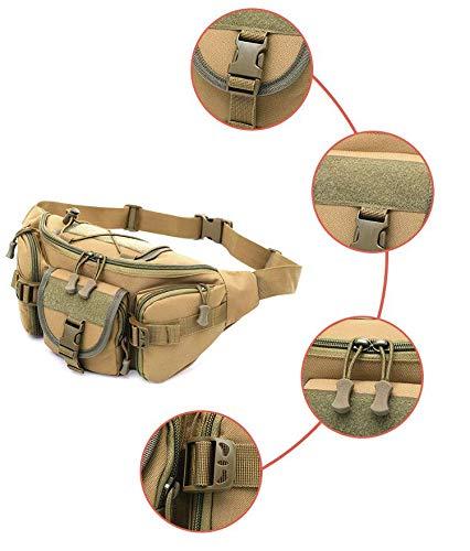 Mzj Cintura Bolsa De Cintura Mzj Grande Al Aire Libre Riding Travel Mountaineering Running Casual Bolso del Pecho Bolsa De Hombres,Negro e3bbc8