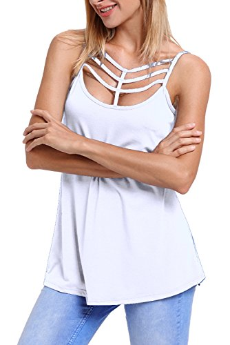 Alvaq-Women-Sexy-Spaghetti-Strap-Tank-Top-With-Caged-Neckline-S-XXL-5-Colors