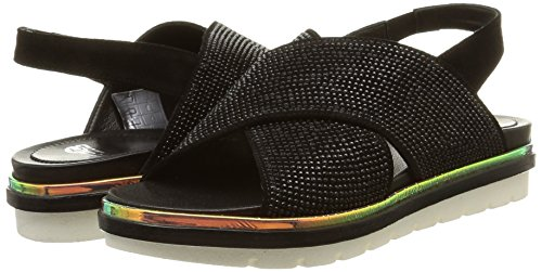 Company borchie Sandals velour Fruit Nero 2962 The Nere Women's Noir UR5w1qg