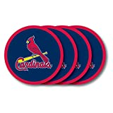 Duck House MLB St. Louis Cardinals Vinyl Coaster Set (Pack of 4)