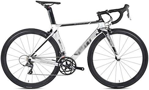 TSTZJ Bicicleta de Carretera, Bicicleta de Carretera de Fibra de ...