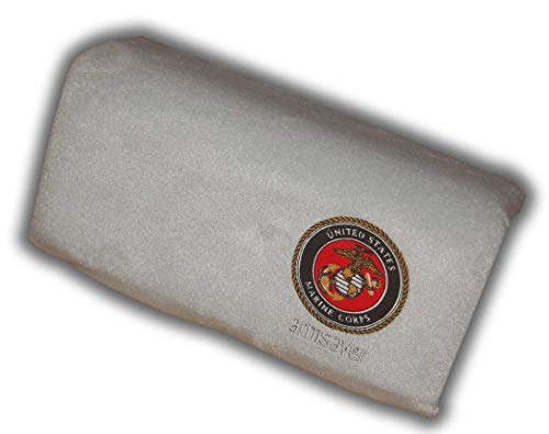 FAST SHIPPING ██████ USMC silver armsaver arm rest FITS FORD,DODGE,CHEVY,LAND ROVERS, ()