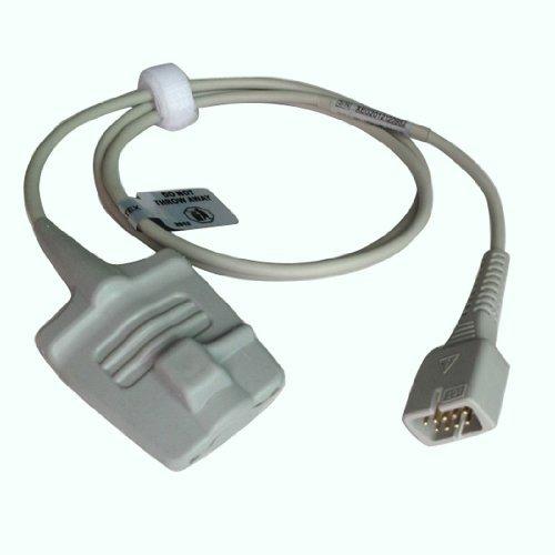 DEHANG 9 Pins Plug Adult Finger Soft-tip Type Spo2 Sensor Probe 1M by DEHANG
