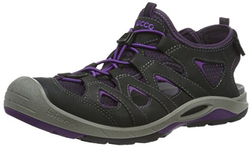 ECCO Womens Biom Delta Offroad Athletic Sandal Black/Imperial Purple g8jcD1HJbX