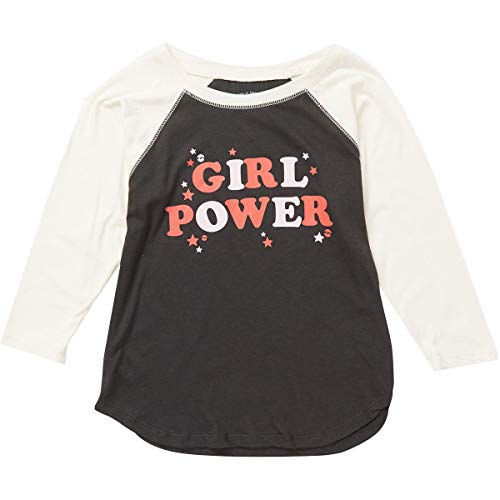 - Billabong Kids Girl's Girl Power Raglan (Little Kids/Big Kids) Black Multi Medium