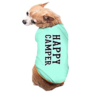 Jade Cute Happy Camper Poster Doggie Pets Costumes SkyBlue Size M