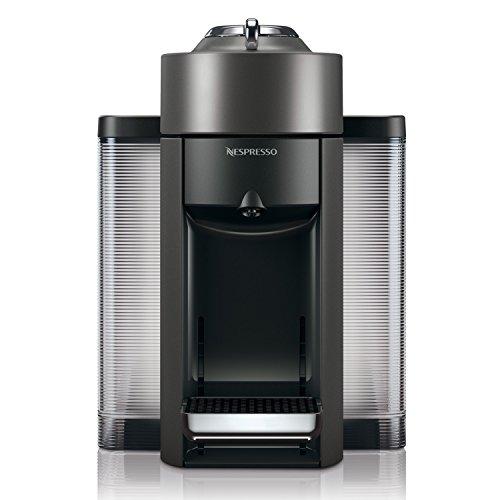 Nespresso Vertuo Evoluo Coffee And Espresso Machine By Delonghi  Graphite Metal