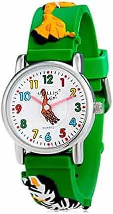 Children's Watches Cartoon Football Basketball Watch Kids Tennis Racket Fashion Children Watch For Girls Boys Students Clock Quartz Wrist Watches Lovely Luster
