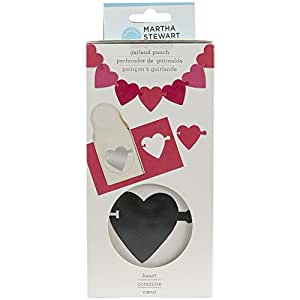 Martha Stewart Crafts Garland Punch Heart