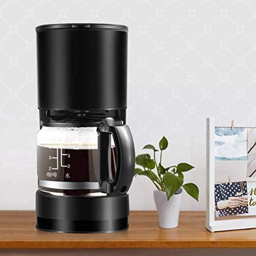 PXX Filtre Machine À Café, 0.6L Design Anti-Goutte À Goutte Amovible Filtre de Maintien Au Chaud, 600W D'Économie D'Énergie
