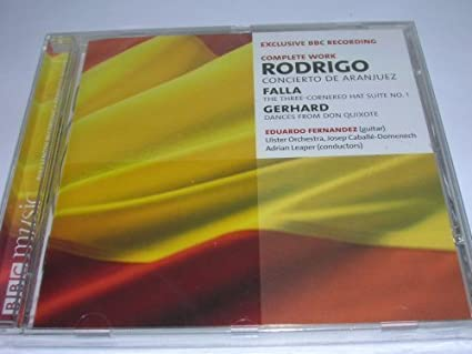 Amazon.com: Eduardo Fernandez performs Rodrigo: Concierto de ...