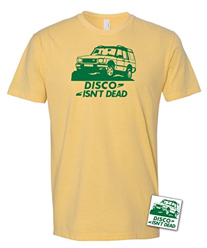 Disco Isn't Dead T-Shirt & Sticker, Land Rover Discovery 4x4 Offroad