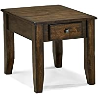 Intercon KA-TA-2228-RAI-C Kona End Table, Rasin