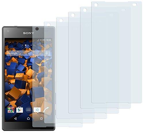 6 x mumbi Schutzfolie Sony Xperia Z5 Compact Folie Displayschutzfolie