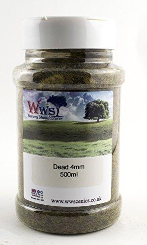 Dead Static Grass 500ml by WWS - Model Railway, Scenery, Terrain (4mm)