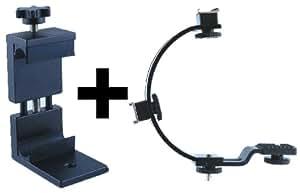 American Recorder Smart Bracket Smartphone Bracket with C-Bracket Bundle (PHOBDL1003)