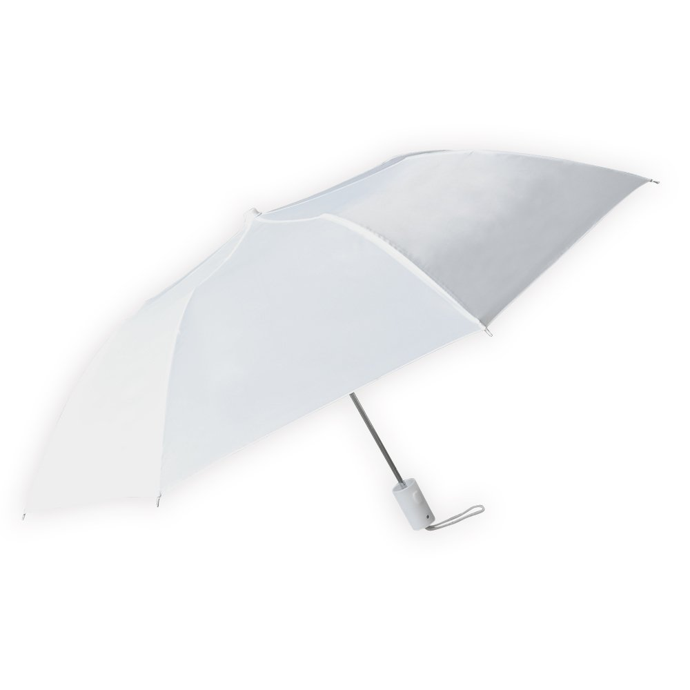 Barton Outdoors White Compact Rain Umbrella, Pack of 12