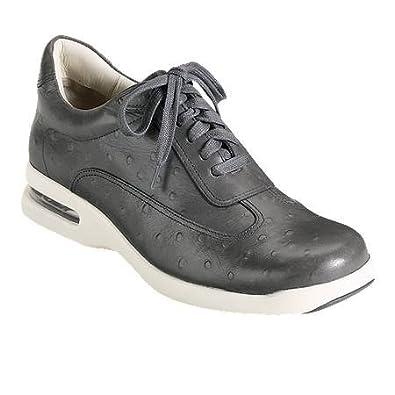 Cole Haan Men's Air Conner C10589 Ostrich Print Sneaker, Iron, ...