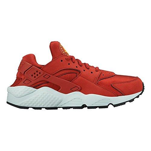 Nike Womens Air Huarache Run 634835 600 Cinnaabar/lsr Orng-fbrglss-blk Size 8.5