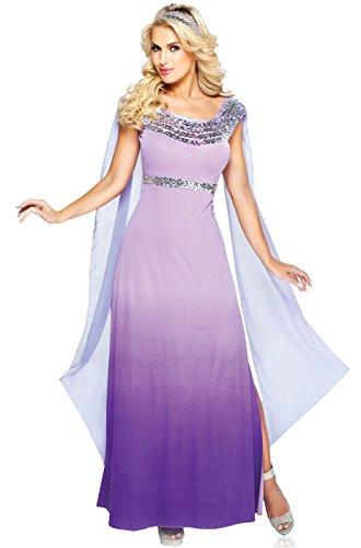 Lilac Goddess Costume (Goddessey 80014-S Goddess Of Romance Costume - Lilac And Purple, Small)