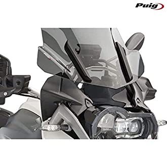 PUIG - 7550F : Visera Original R1200gs 13-14' Color Ahumado oscuror -> R1200 GS (13-15) R1200 GS Adventure (13-15)