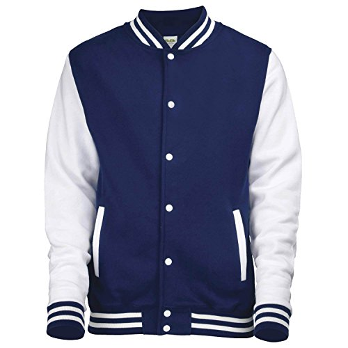 Homme Shirt Varsity Navy Awdis Oxford Jacket White Sweat UqITnwp8t