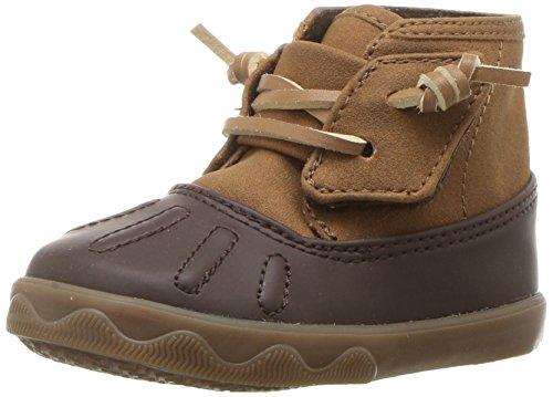Sperry Boys' Icestorm Crib Ankle Boot Tan/Brown 3 Medium US Infant ()