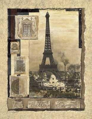 Art Poster Print - Belle Epoque - Artist: Richard Henson
