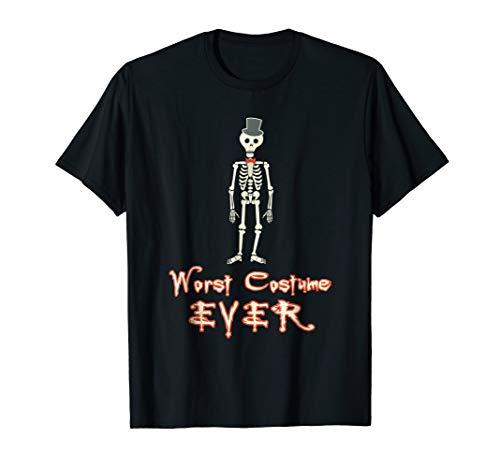 Worst Costume Ever Funny Novelty Halloween t-Shirt