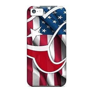Apple Iphone 5c Kvx19519lElU Provide Private Custom Stylish Houston Texans Image Bumper Hard Phone Cover