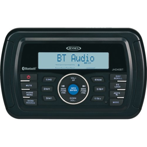 JENSEN JHD40BT Bluetooth Radio (Stereo) by Jensen