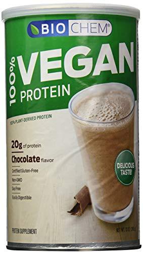 Biochem 100% Vegan Protein Powder, Chocolate, 13-Ounce