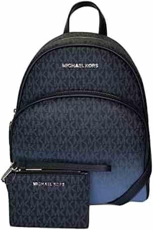 8e979f474d03 MICHAEL Michael Kors Abbey MD Backpack bundled with Michael Kors Jet Set  Travel Coin Purse Wristlet