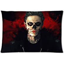 """New Evan Peters Pillow Case Cover 20""""x30"""" Pillowcase Cover (Two Sides)"""