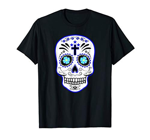 Dia De Los Muertos Day Of The Dead Sugar Skull Costume Shirt
