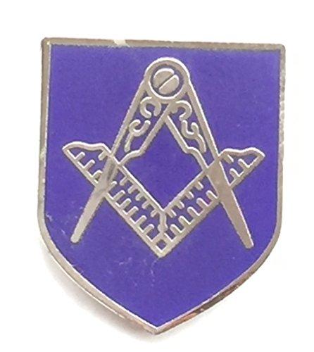 Freemasonary avec symbole maçonnique Compas équerre de maçon pour Badge Pin's