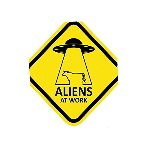 Kisscase Custom Blanket Outer Space Aliens at Work Kidnapping Cow Form Myth Invasion Theory Concept Image Bedroom Living Room Dorm Yellow Black